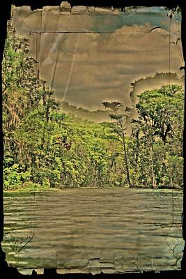Photograph - Old Florida Silver River by Sheri McLeroy