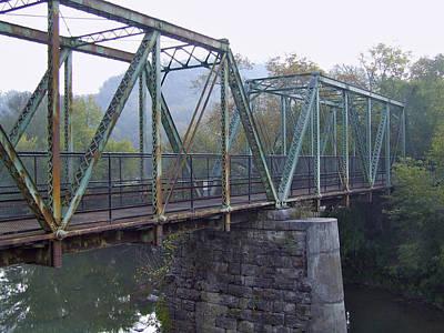 Old Foot Bridge Art Print