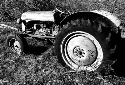 Photograph - Old Ford 8n by Luke Moore