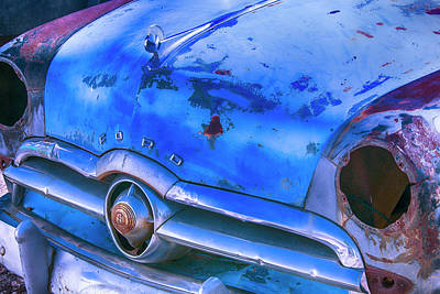 Old Ford Car Art Print by Garry Gay
