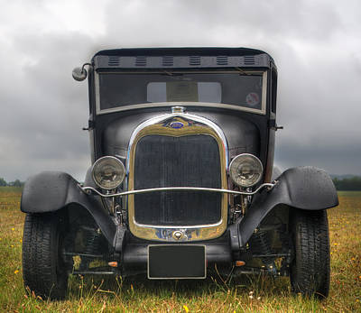 Photograph - Old Ford by Chris Day