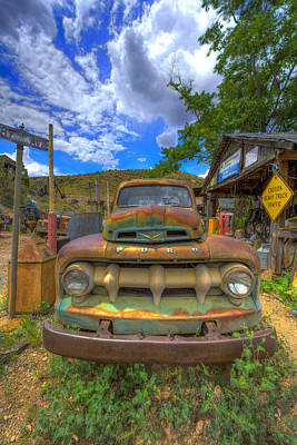 Photograph - Tow Mater by Chris Featherstone