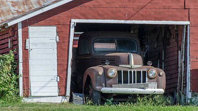 Photograph - Old Ford by Dan Traun
