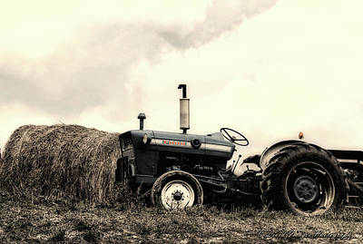 Photograph - Old Ford Farming by Kristie Bonnewell