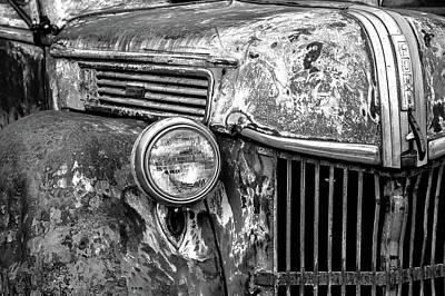 Wall Art - Photograph - Old Ford, Grill 3 by Diana Marcoux