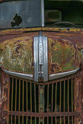 Wall Art - Photograph - Old Ford Grill And Window by Diana Marcoux