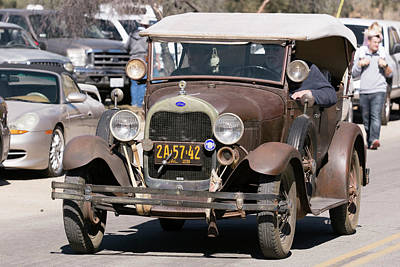 Photograph - Old Ford by John Swartz