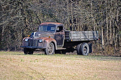 Photograph - Old Ford by Linda Brown