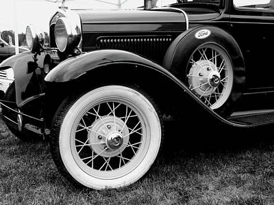Photograph - Old Ford by Michiale Schneider
