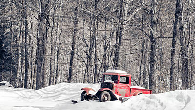 Photograph - Old Ford Model T Pickup Truck  by Edward Fielding