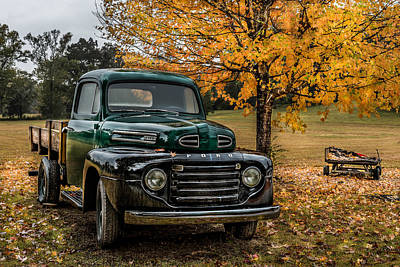Photograph - Old Ford by Randy Walton