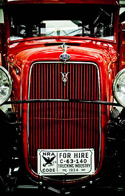 Photograph - Old Ford by Scott Sawyer