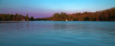 Photograph - Old Forge Pond Panorama by David Patterson