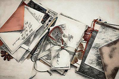 Digital Art - Old Forgotten Letters by Pennie McCracken