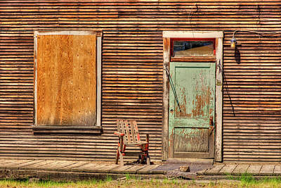 Photograph - Old Fort Klamath Hotel 2 by Richard J Cassato