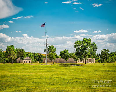 Photograph - Old Fort Laramie by Jon Burch Photography