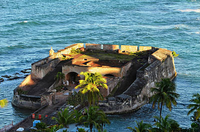 Photograph - Old Fort, San Juan Pr by Michael Ziegler
