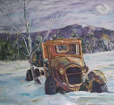Old Friend II Art Print by Alicia Drakiotes