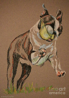 Pastel - Old Friend by Susan Herber