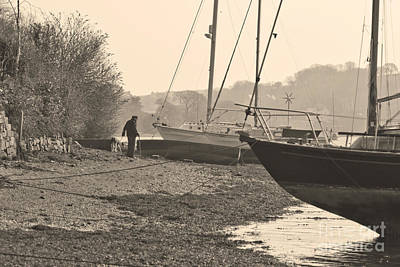 Photograph - Old Friends At Mylor Bridge by Terri Waters