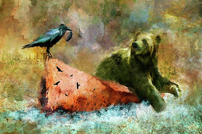 Painting - Old Friends by Christina VanGinkel