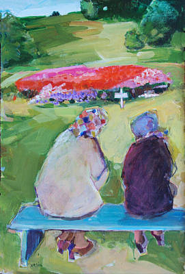 Painting - Old Friends by Diane Ursin