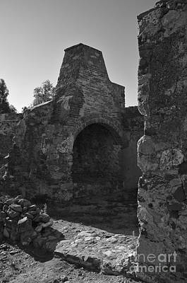 Ruins Photograph - Old Furnace In A Medieval Castle by Angelo DeVal