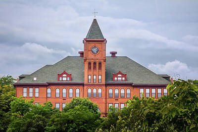 Photograph - Old Galena Illinois High School by Joni Eskridge