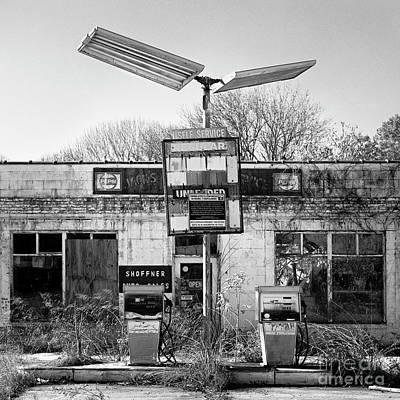 Photograph - Old Gas by Patrick M Lynch