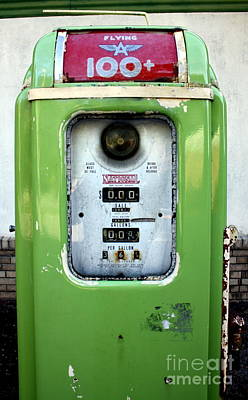 Old Gas Pump II Art Print by DazzleMePhotography