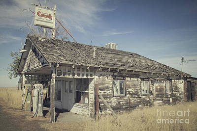Photograph - Old Gas Station by Robert Bales