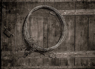 Photograph - Old Gate by Elaine Malott