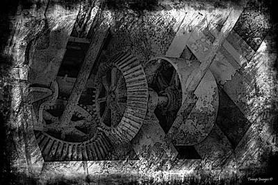 Photograph - Old Gear by Wesley Nesbitt