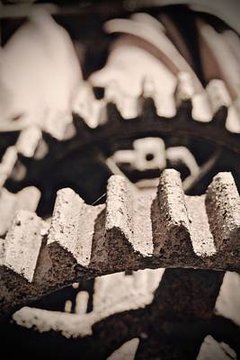 Photograph - Old Gears by Photography by Tiwago