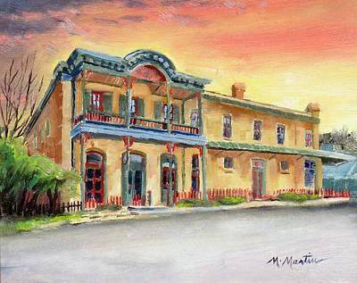 Mike Martin Painting - Old General Store by Mike Martin