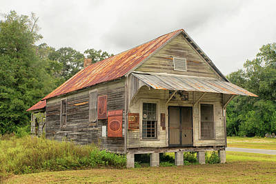 Photograph - Old General Store by Victor Culpepper