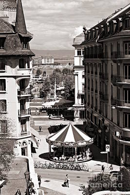 Photograph - Old Geneva by Cendrine Marrouat