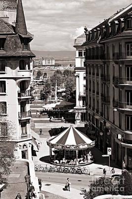 Photograph - Old Geneva by Cendrine Marrouat
