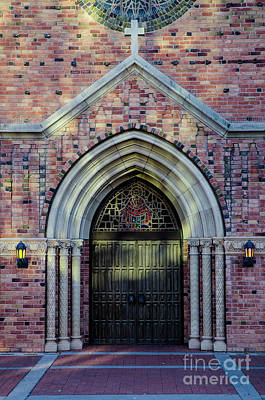 Photograph - Old Glendale Arizona United Methodist Church  by Nick Boren