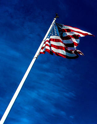 Photograph - Old Glory 364 by Jeff Stallard