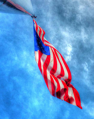 Photograph - Old Glory 365 by Jeff Stallard