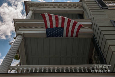 Photograph - Old Glory Flying Strong by Dale Powell