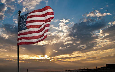 Photograph - Old Glory by John Collins