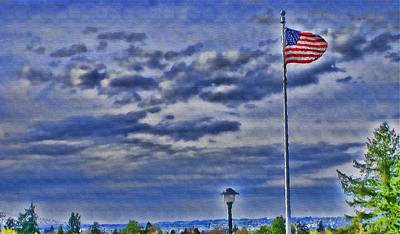Photograph - Old Glory by John Winner