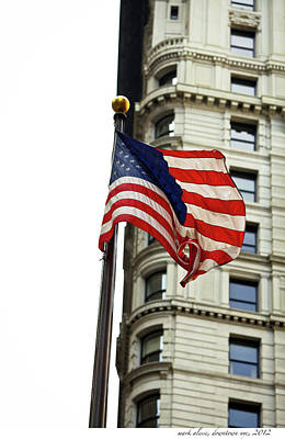Photograph - old Glory by Mark Alesse