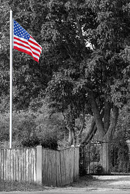 Photograph - Old Glory by Mark Wiley