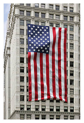 Photograph - Old Glory by Robert Harshman