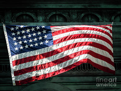 Photograph - Old Glory by Robin Zygelman