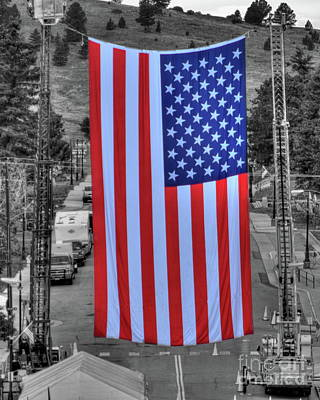 Photograph - Old Glory by Tony Baca