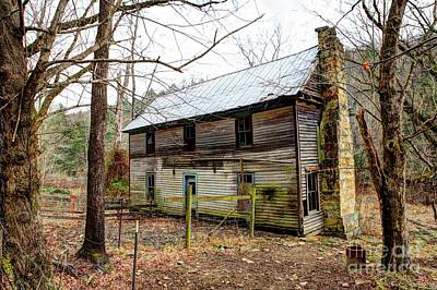 Photograph - Old Gobey Home Place by Paul Mashburn
